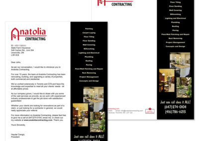 Anatolia Contracting Letter and Template