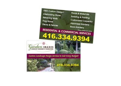 Garden Images Business Card