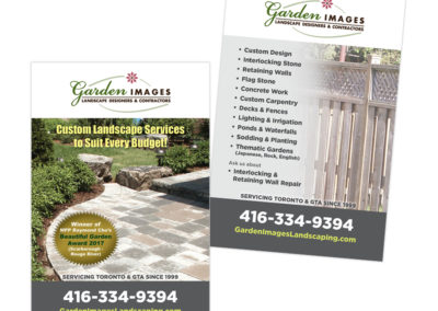 Garden Images Postcard 2018