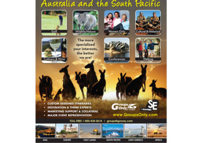 Goway Ad - Leisure Group Travel Australia South Pacific