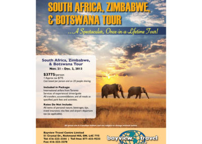 Goway Flyer - Bayview Travel Africa