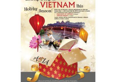 Goway Flyer - Vietnam Contest