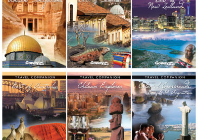 Goway Holiday of a Lifetime Travel Companion Covers - 1