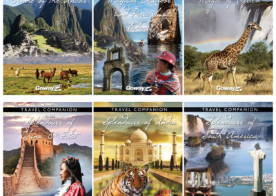 Goway Holiday of a Lifetime Travel Companion Covers - 2