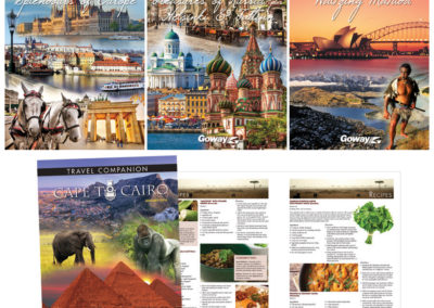 Goway Holiday of a Lifetime Travel Companion Covers - 3