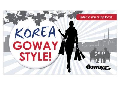 Goway Online Banner - Korea Goway Style