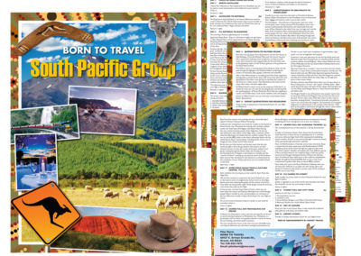 Goway Tour Shell - Born to Travel, South Pacific