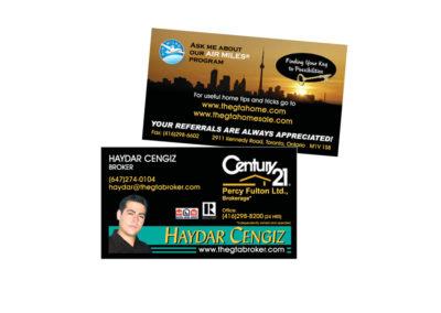 Haydar Cengiz Business Card