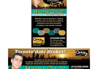 Haydar Cengiz Print Ads