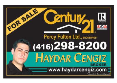 Haydar Cengiz Rider Sign
