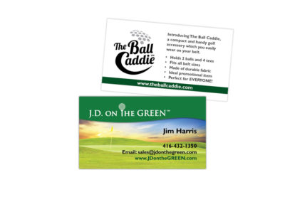JD on the Green Business Card