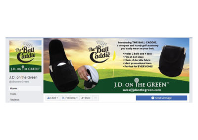 JD on the Green Facebook Profile and Cover Photo
