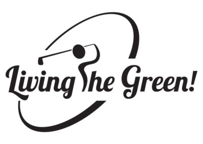 JD on the Green - Living the Green Logo