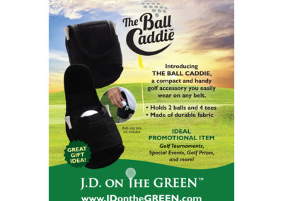 JD on the Green Poster