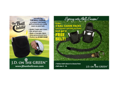 JD on the Green Web Banners