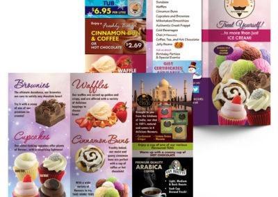 Lickadee Split - Fall 2012 Brochure Copywriting