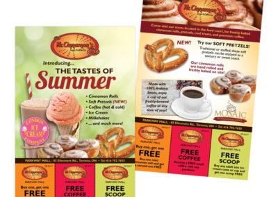 Mr Cinnamon's Summer Flyer