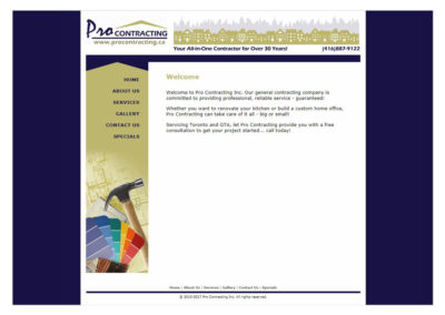 """ProContracting Website  -  <a href=""""http://www.procontracting.ca""""   target=""""blank"""">www.procontracting.ca</a  >"""