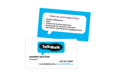 TalkWalk Business Card