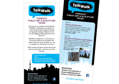 TalkWalk Postcard