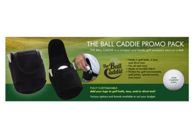 JD on the Green Promo Ball Caddie Banner